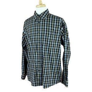 Eddie Bauer Men's Wrinkle Resistant Shirt Large